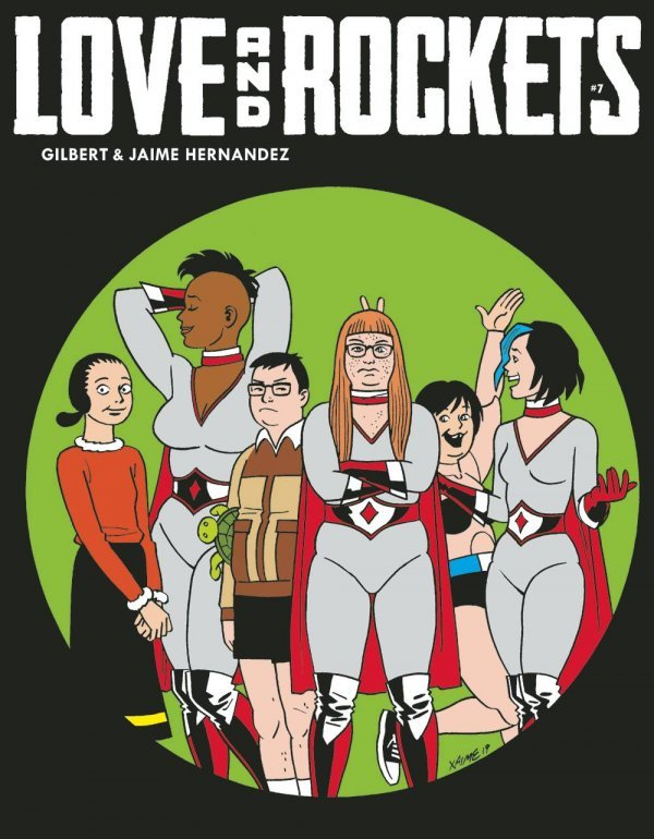 Love & Rockets Magazine #7