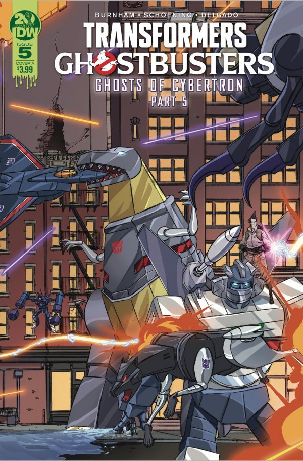 Transformers / Ghostbusters #5