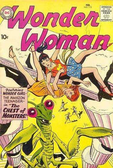 Wonder Woman #112
