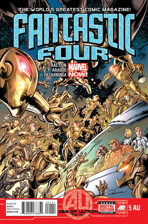 Fantastic Four #5 AU
