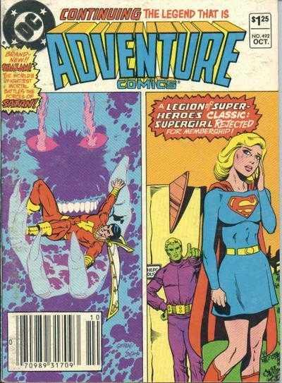 Adventure Comics #492