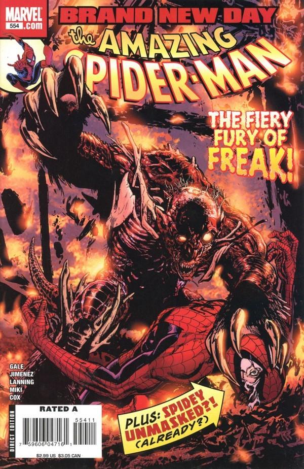 The Amazing Spider-Man #554