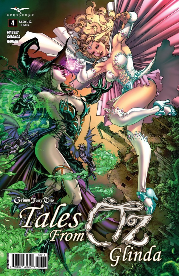 Grimm Fairy Tales Presents Tales From Oz #4