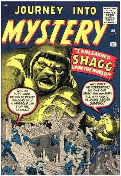 Journey into Mystery #59