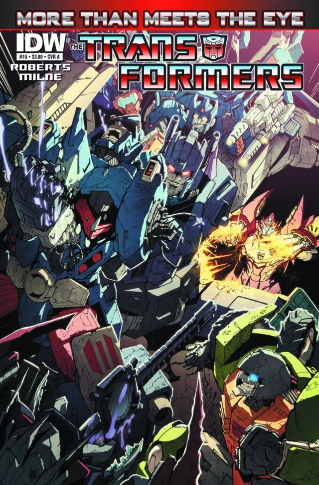 The Transformers: More than Meets the Eye #15