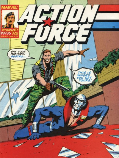 Action Force #36