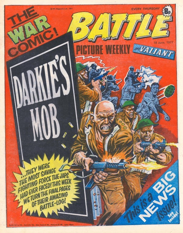 Battle Picture Weekly #120 (June 18th, 1977)