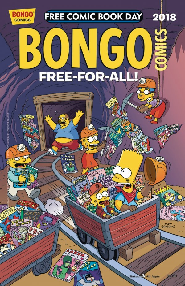 Free Comic Book Day 2018: Bongo Comics Free-For-All #1 review