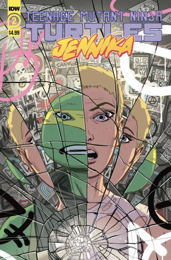 Teenage Mutant Ninja Turtles: Jennika #2