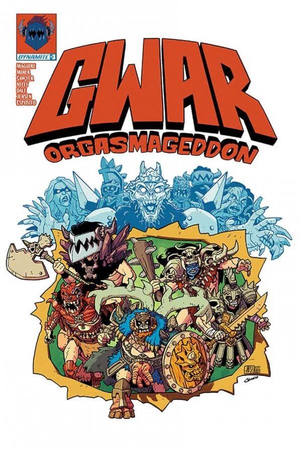 GWAR: Orgasmageddon #3