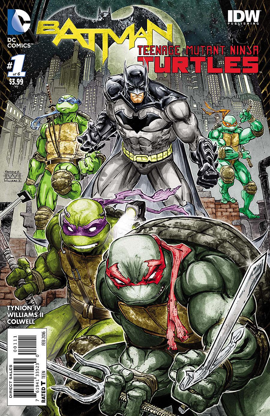 Batman / Teenage Mutant Ninja Turtles #1