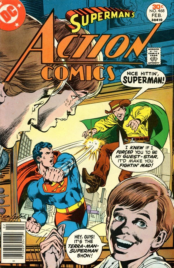 Action Comics #468
