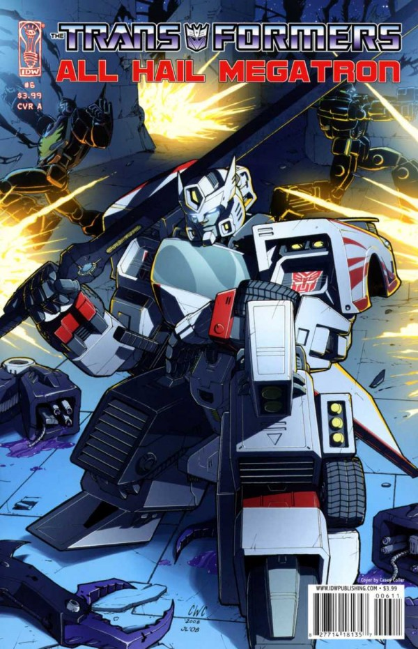 The Transformers: All Hail Megatron #6