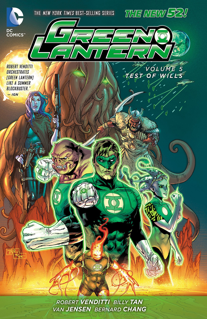 Green Lantern Vol. 5: Test of Wills HC