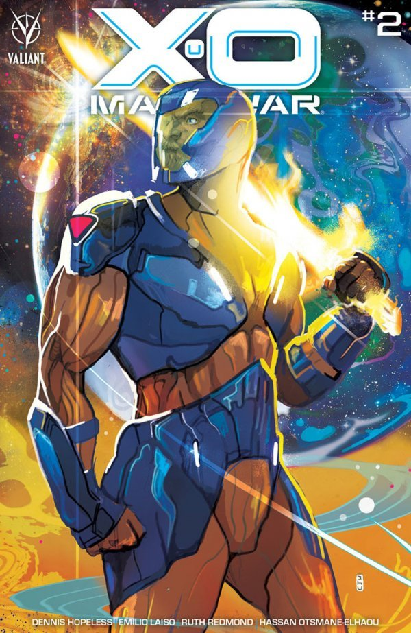 X-O Manowar #2 review