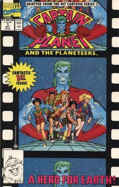 Captain Planet and the Planeteers #1