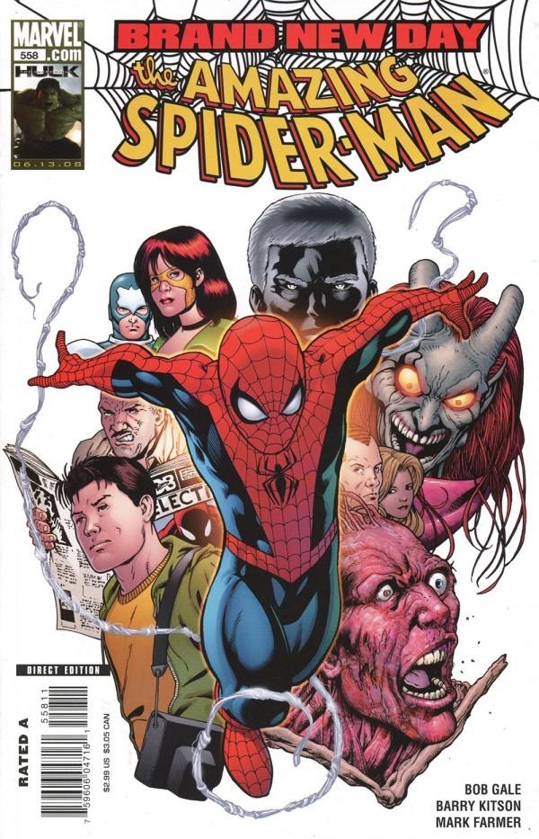 The Amazing Spider-Man #558