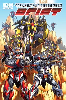 The Transformers: Drift #2