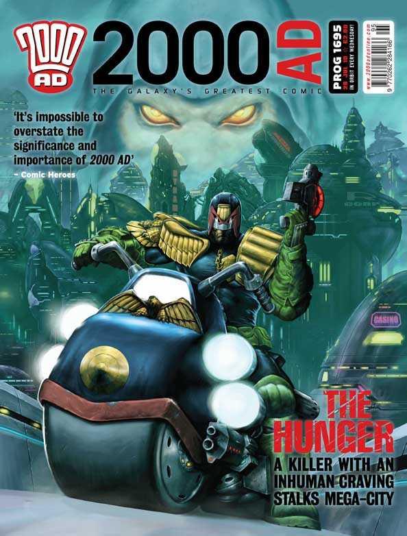 2000 AD #1695
