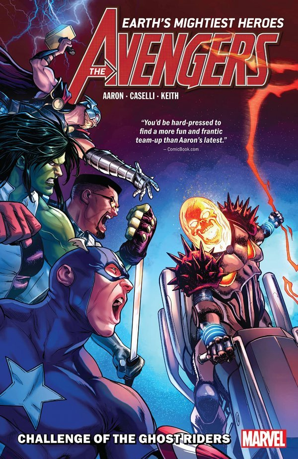 Avengers Vol. 5: Challenge of the Ghost Riders TP