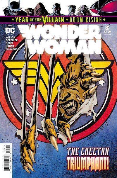 Wonder Woman #81