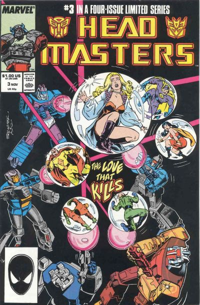 The Transformers: Head Masters #3