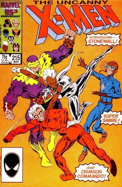 Uncanny X-Men #215