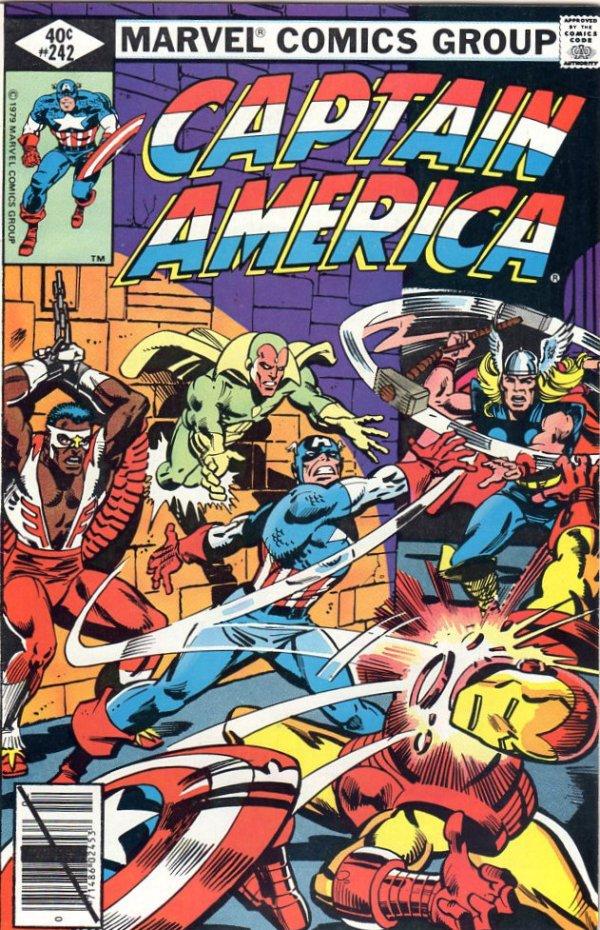 Captain America #242