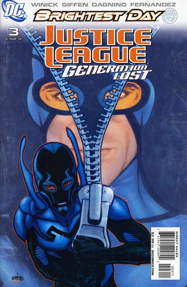 Justice League: Generation Lost #3