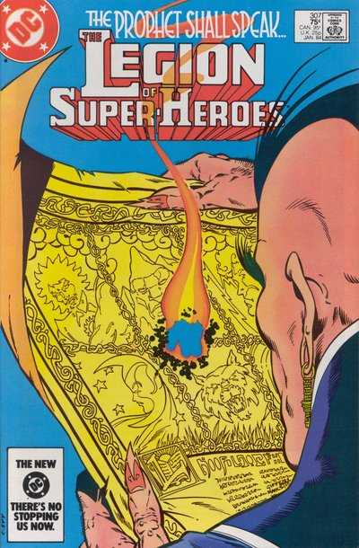 Legion of Super-Heroes #307