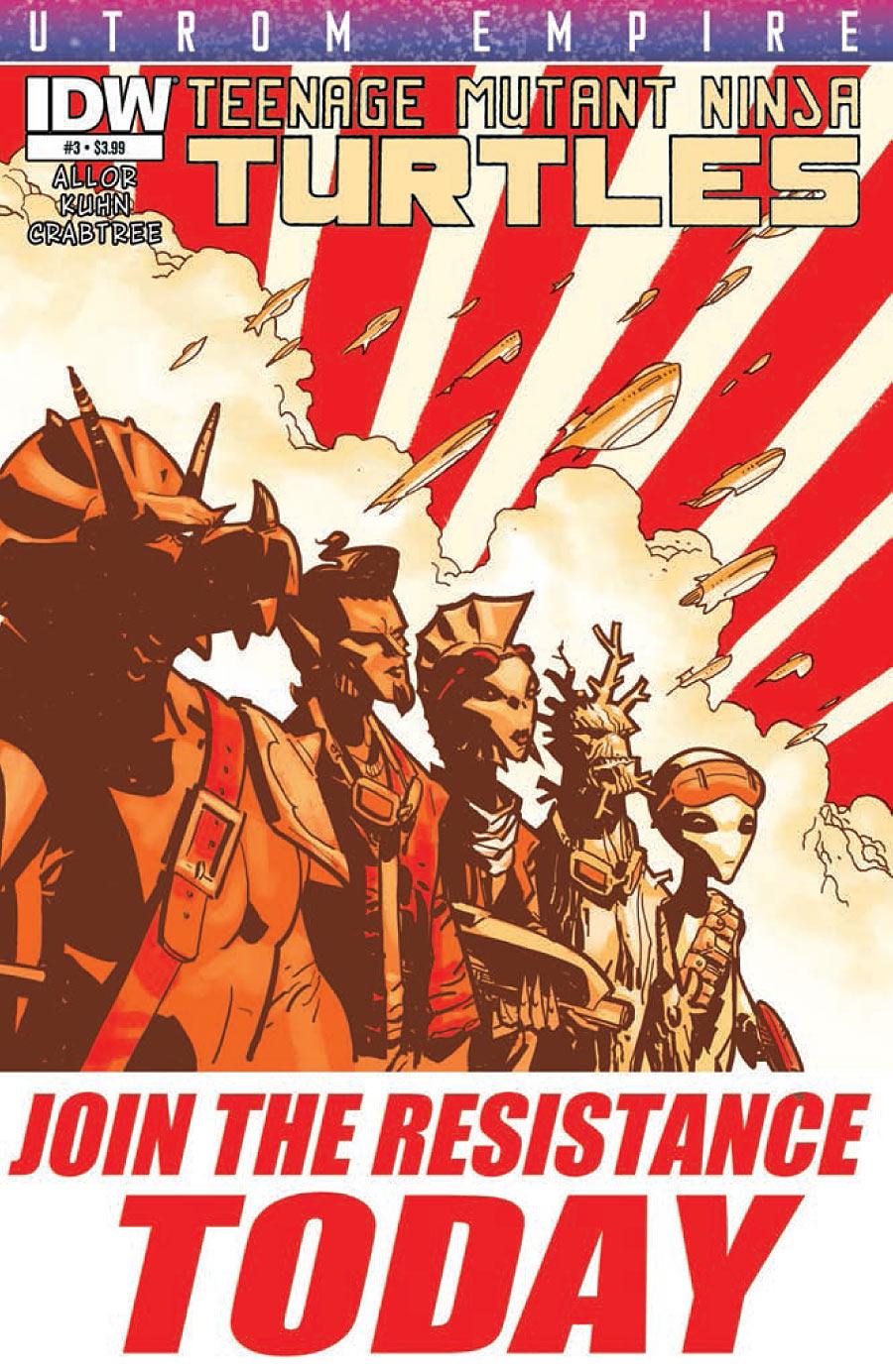 Teenage Mutant Ninja Turtles: Utrom Empire #3