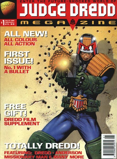 Judge Dredd Megazine #1