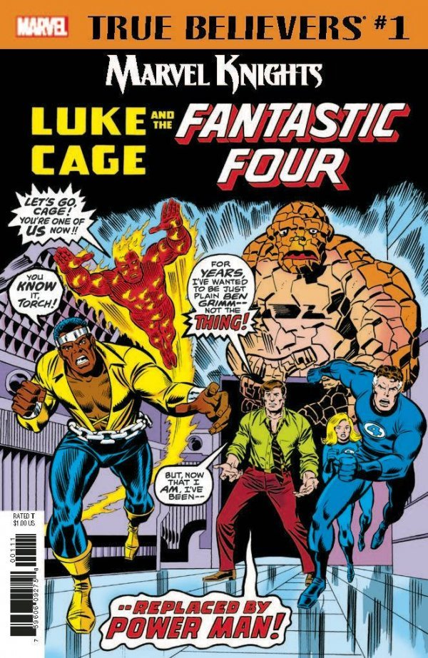 True Believers: Marvel Knights 20th Anniversary - Luke Cage & The Fantastic Four #1