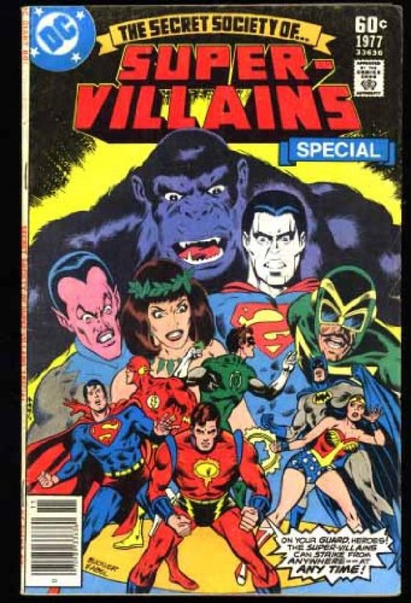 The Secret Society of Super-Villains #Special