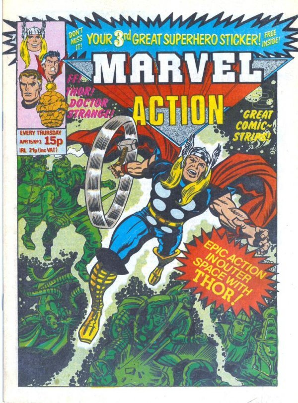 Marvel Action #3