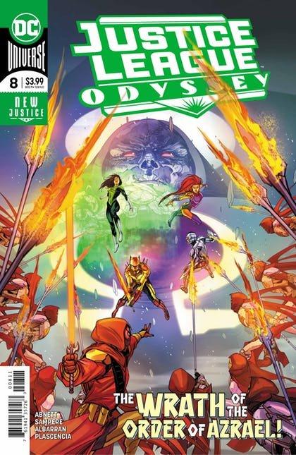 Justice League Odyssey #8