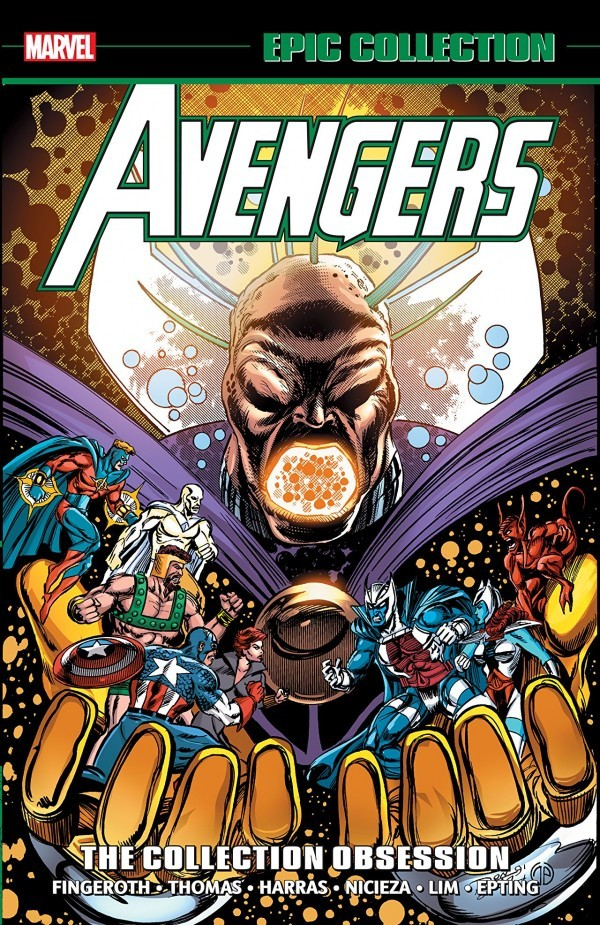 The Avengers Epic Collection: The Collection Obsession TP