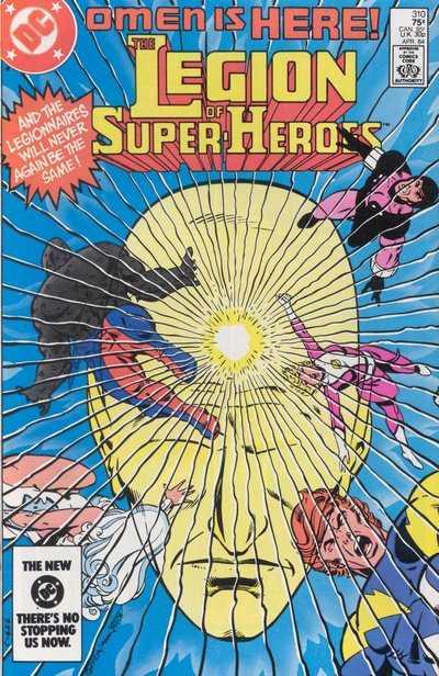 Legion of Super-Heroes #310