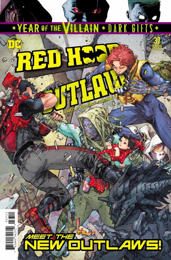 Red Hood: Outlaw #37