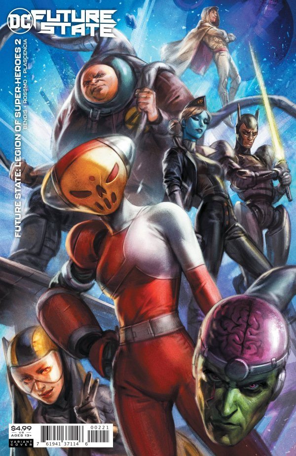 Future State: Legion of Super-Heroes #2