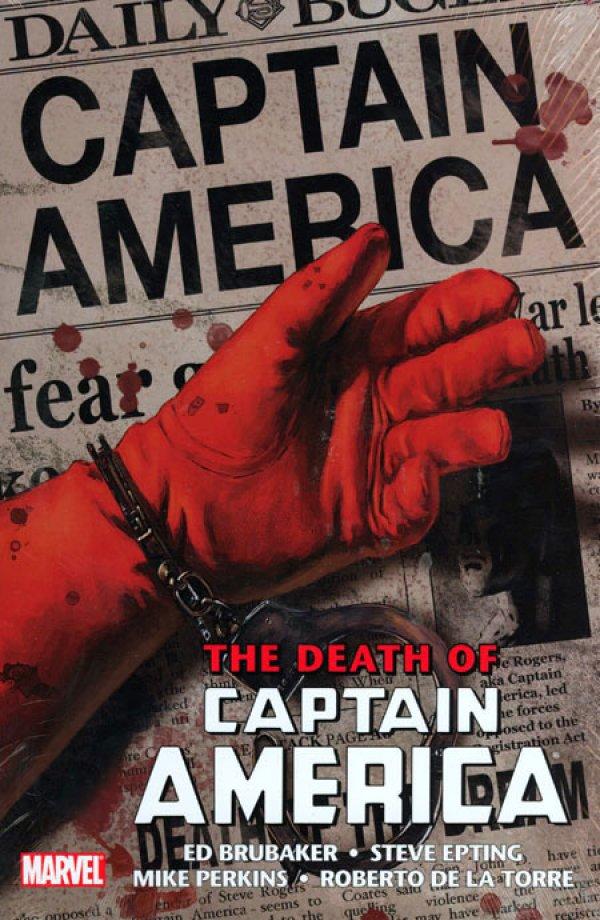 Captain America: The Death of Captain America Omnibus HC