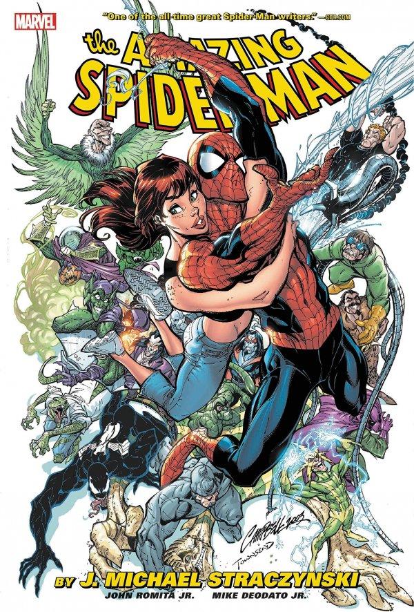 The Amazing Spider-Man by J. Michael Straczynski Omnibus Vol. 1 HC