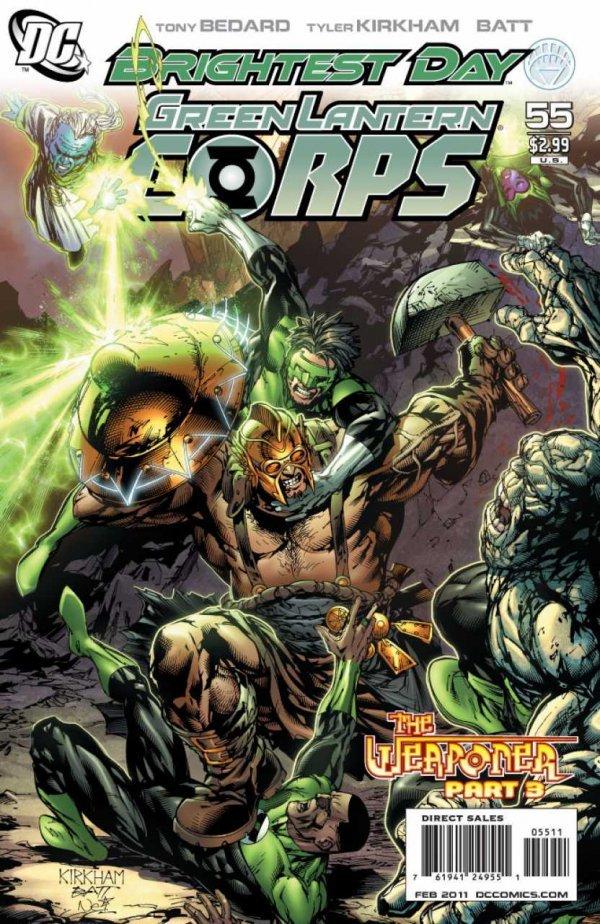 Green Lantern Corps #55