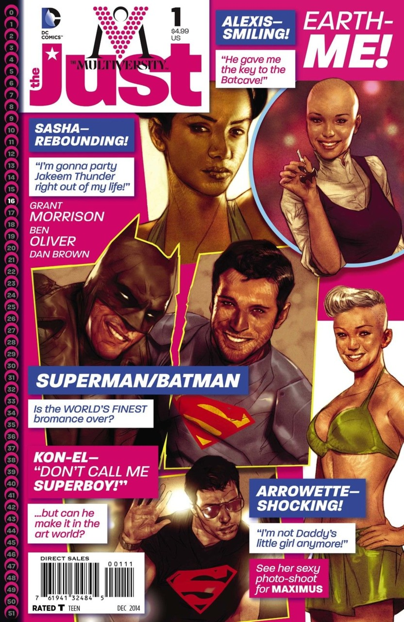 The Multiversity: The Just #1