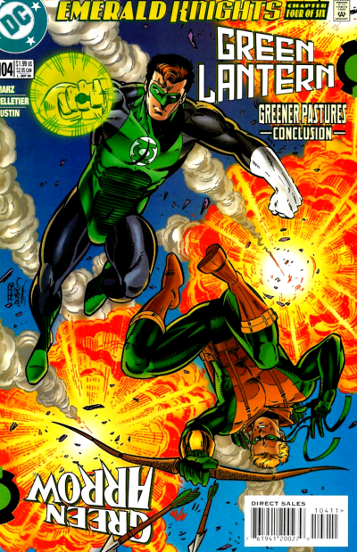 Green Lantern #104