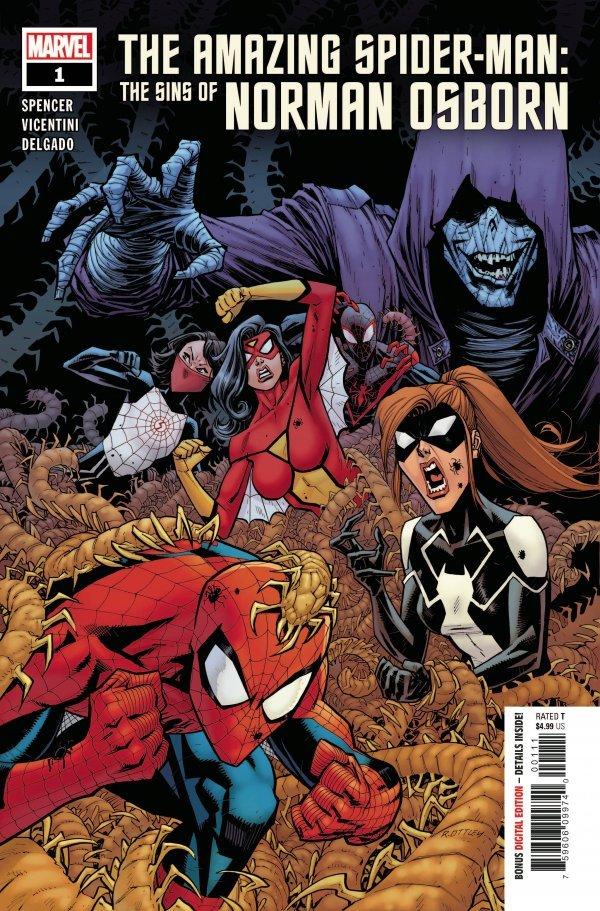 Amazing Spider-Man: The Sins of Norman Osborn #1