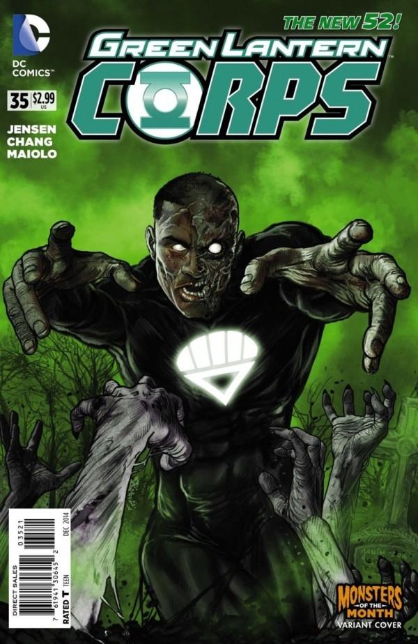 Green Lantern Corps #35