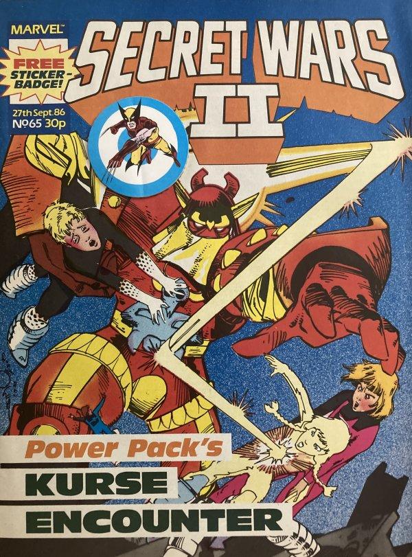 Marvel Super Heroes Secret Wars #65