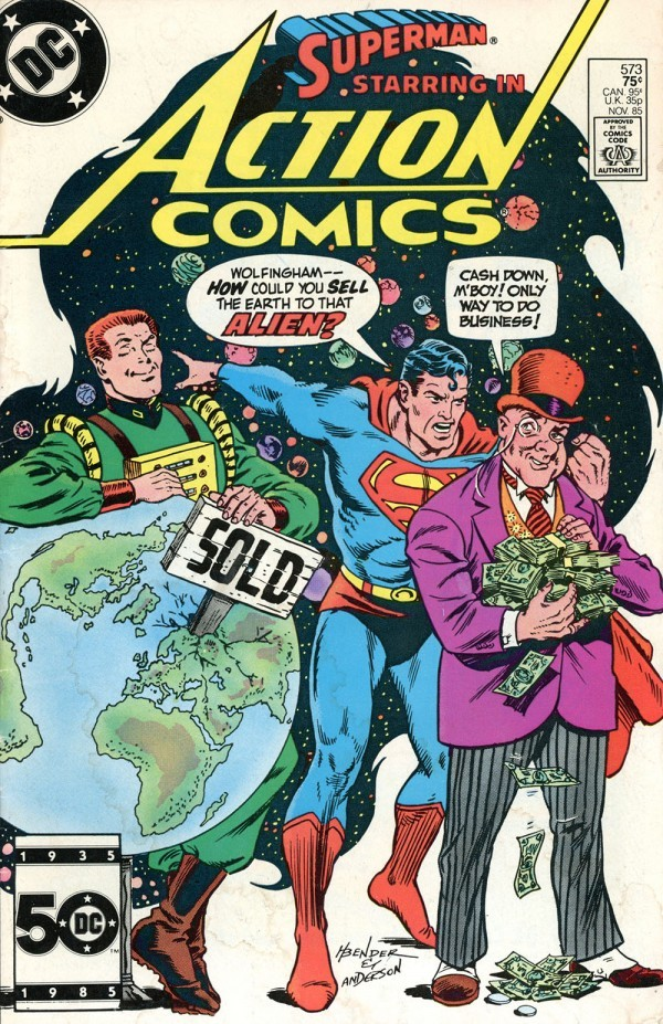Action Comics #573