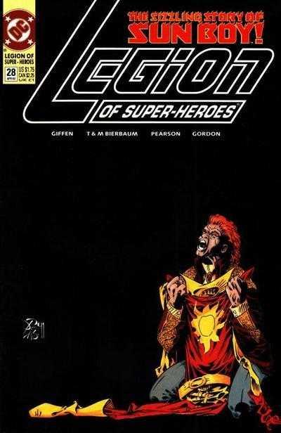 Legion of Super-Heroes #28